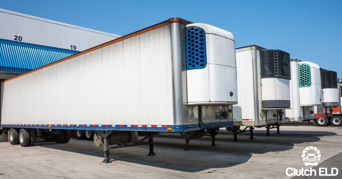 refrigerated trucks that could be used to transport COVID-19 vaccines